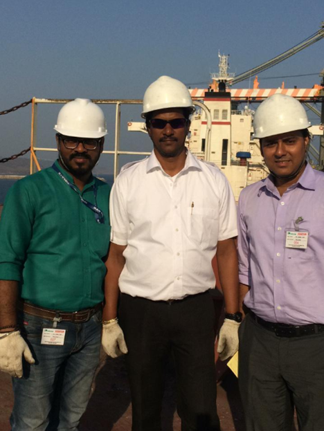 Port & onboard vessel educational trip for employees