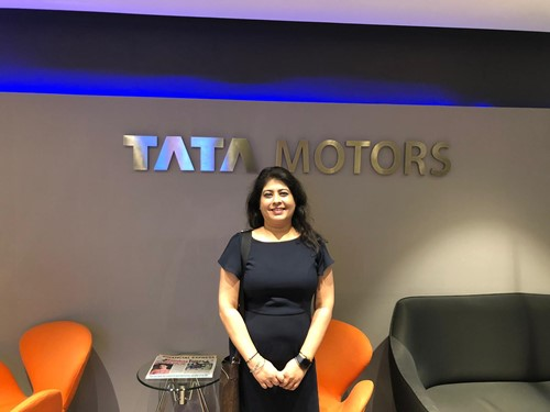 Riya Kaur during knowledge sharing workshop with several TATA Group co's